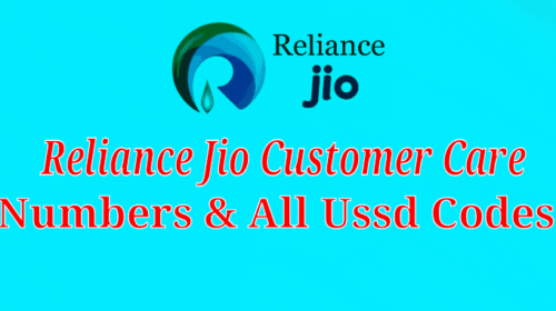 Reliance Jio Toll Free Customer Care Service Number