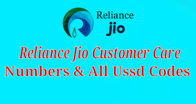 Ralaince Jio Customer care