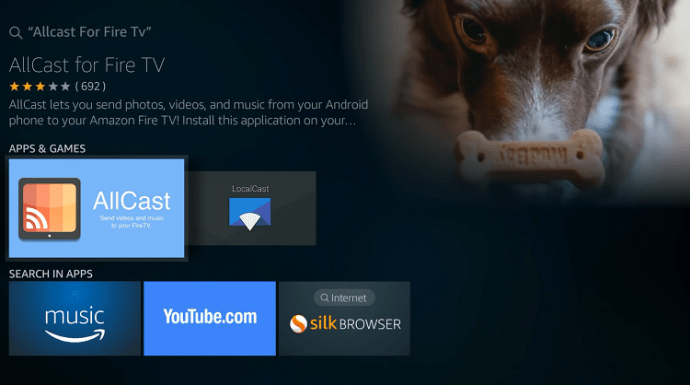 allcast for android tv